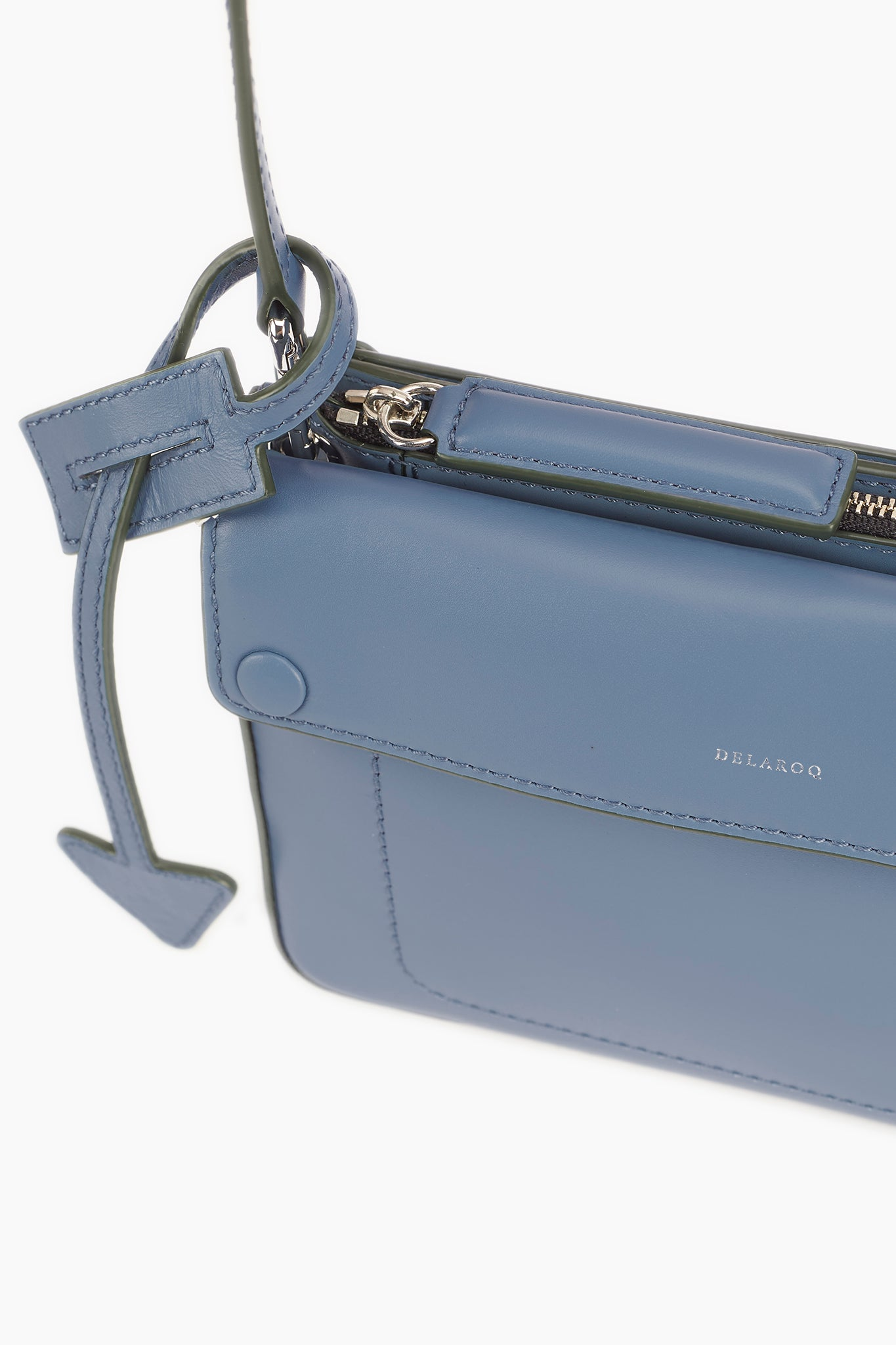 Troisieme Small Crossbody Pouch in Lake