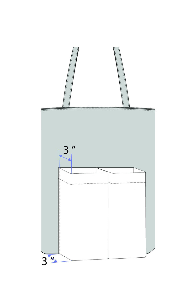 Concierge Tote: Le Grand in Cotton Canvas