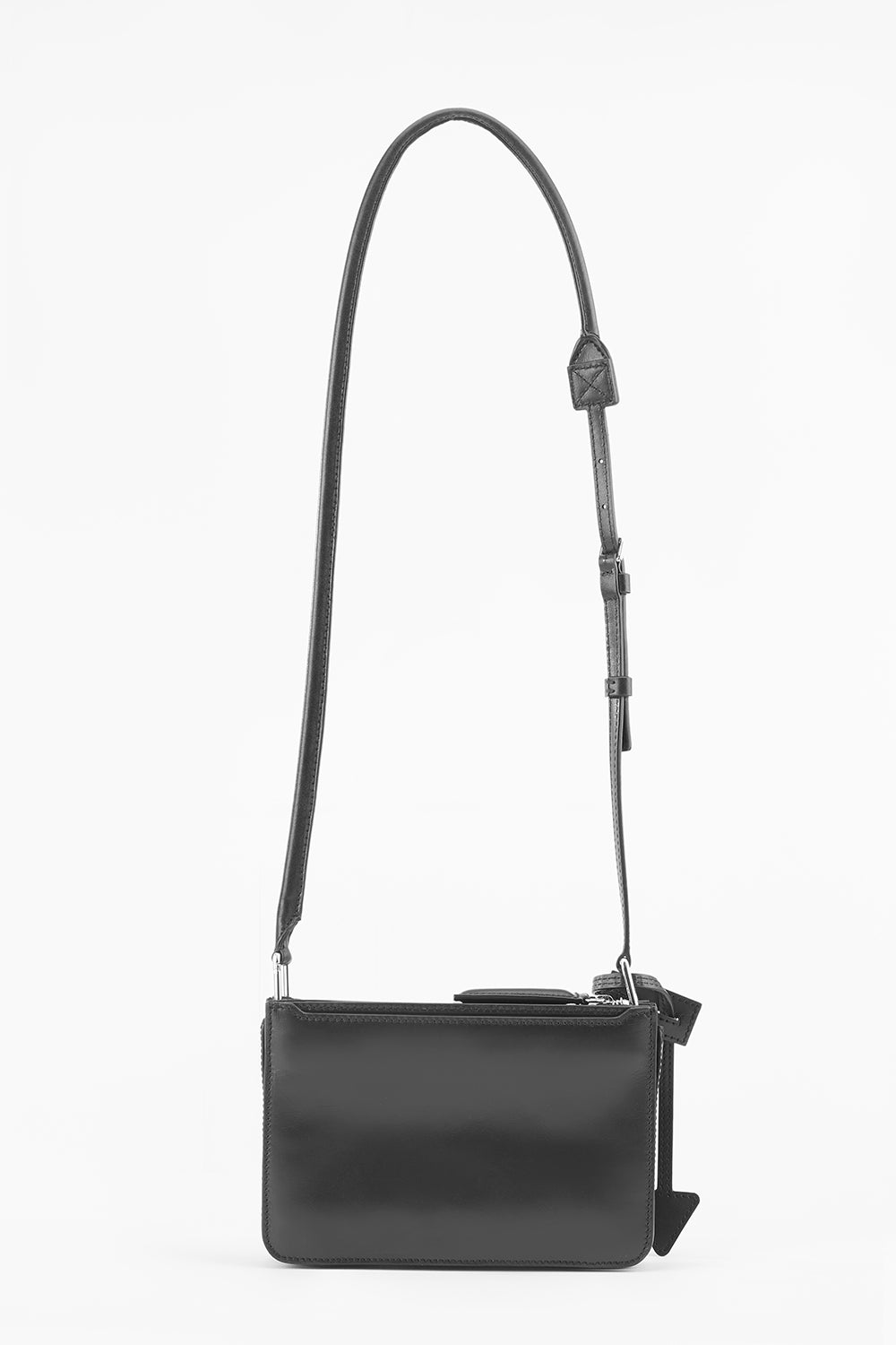 Troisième Small Crossbody Pouch in Pitch Black