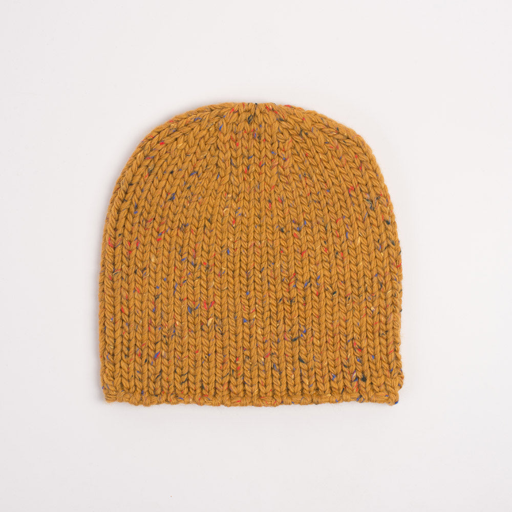 Lighthouse Beanie in Tumeric Latte