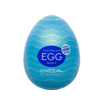 TENGA Egg Male Masturbator Regular WAVY Cool Edition - Adult Toys