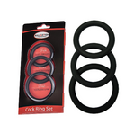 Malesation Silicone Cock Ring Set - Adult Toys