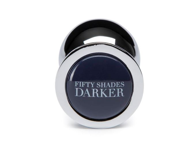 Fifty Shades Darker Beyond Erotic Unisex Steel Butt Plug - Adult Toys