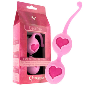 FeelzToys Desi Weighted Kegel Balls - Adult Toys