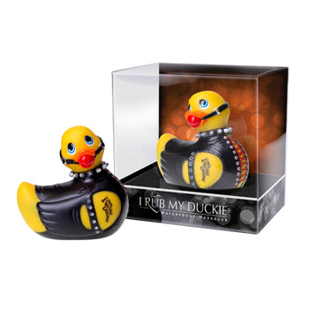I Rub My Duckie Bondage Waterproof Massager | Vibrator Travel Size - Adult Toys