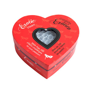 Erotic Heart 100 Erotic Challenges - Adult Toys