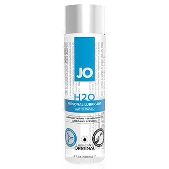 System JO H2O Original Water Based Lube 120ml - Adult Toys