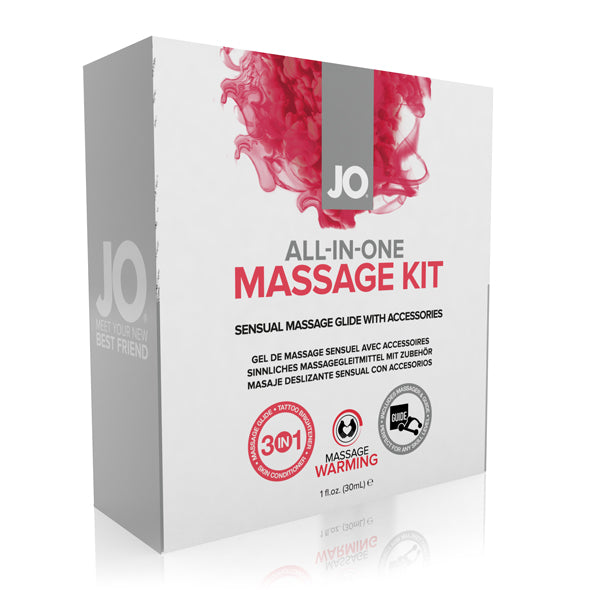 System JO All-In-One Couples Massage Kit - Adult Toys
