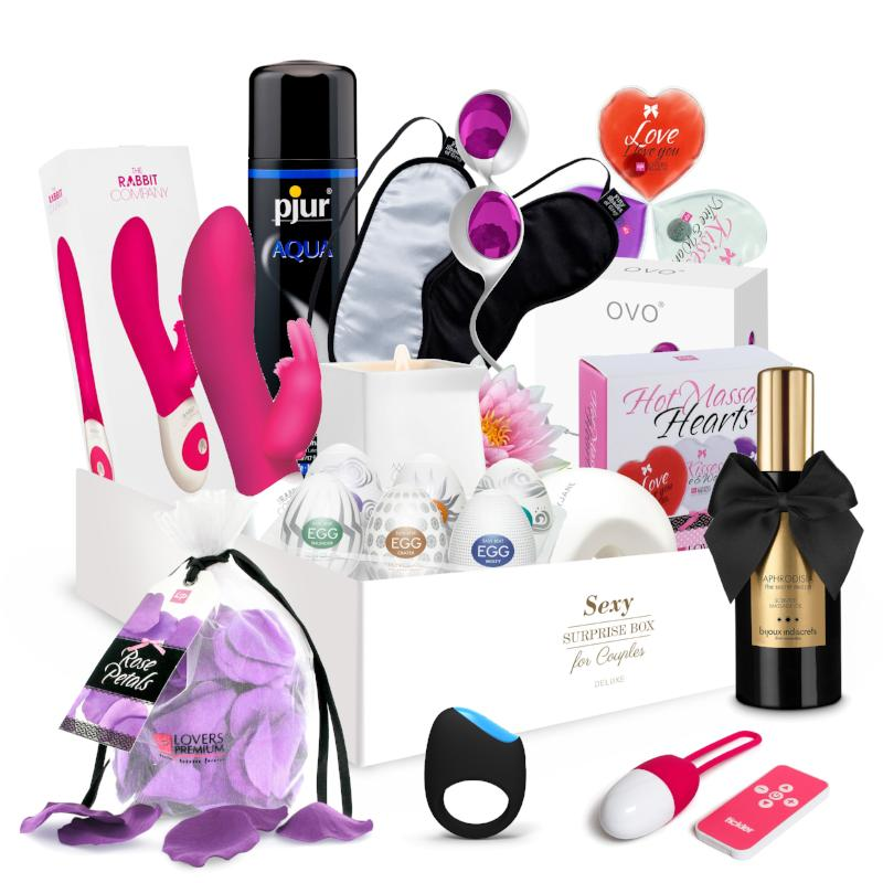 Sexy Surprise Box for Couples - Deluxe - Adult Toys