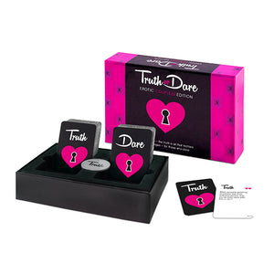 Truth Or Dare Erotic Couples Edition - Adult Toys