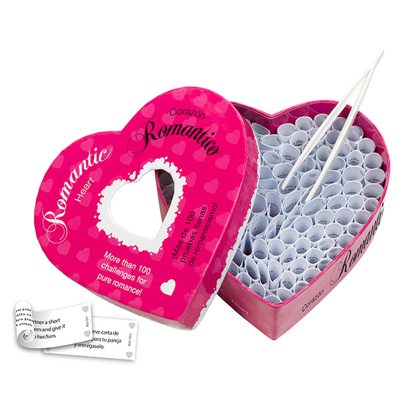 Romantic Heart 100 Romantic Challenges - Adult Toys