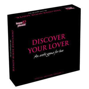 Discover Your Lover Special Edition - An Erotic Game for Two - Adult Toys