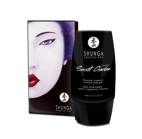 SHUNGA Secret Garden - Female Orgasm Enhancing Cream - Sex Toys Adult Toys