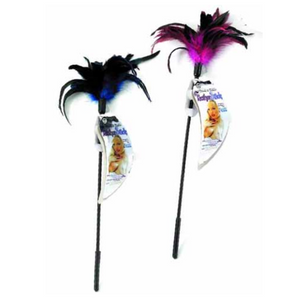 Touch & Tickle Feather Stick - Adult Toys