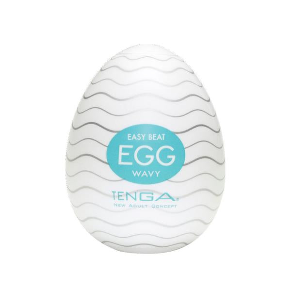 TENGA Egg Male Masturbator Regular WAVY