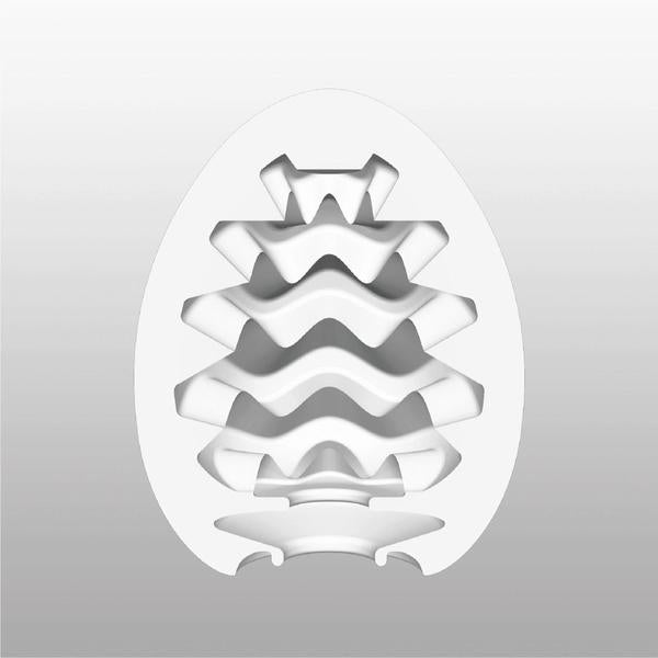 TENGA Egg Male Masturbator Regular WAVY - Adult Toys