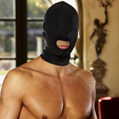 Lux Fetish Open Mouth Stretch Hood - Sex Toys