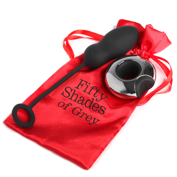 Fifty Shades Relentless Vibrations Remote Controlled Vibrating Egg - Sex Toys