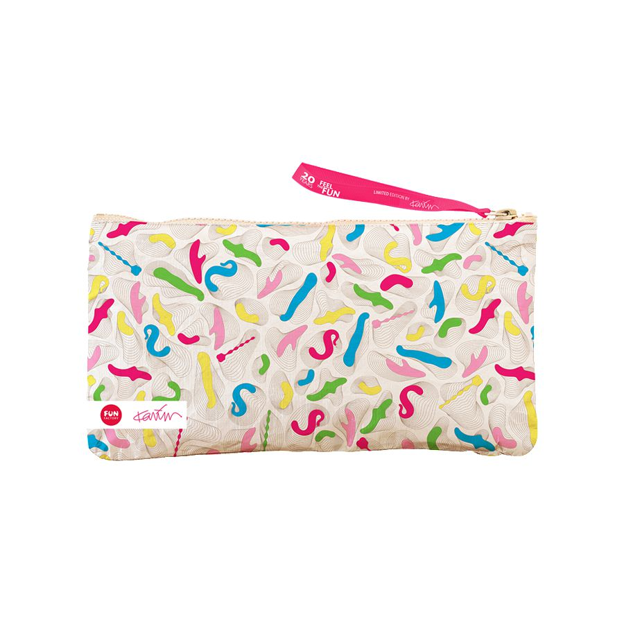 Fun Factory Limited Edition Karim Rashid Toy Storage Bag - Sex Toys