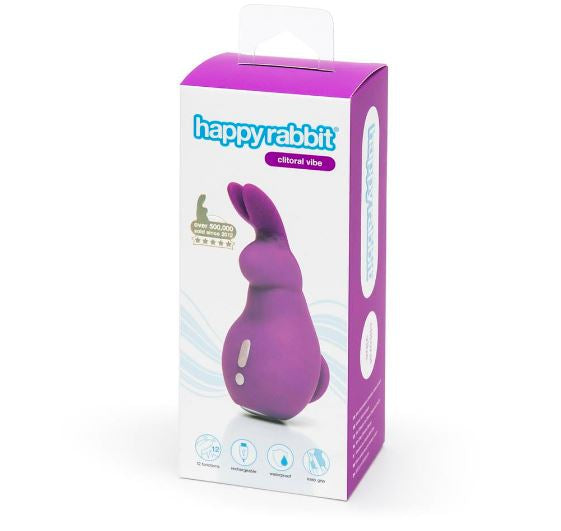 Happy Rabbit Mini Ears Rechargeable Clitoral Vibrator - Sex Toys Adult