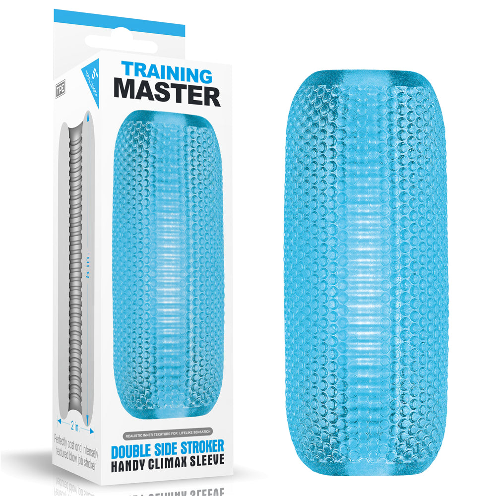 LoveToy Training Master Double Sided Male Stroker | Climax Sleeve - Sex Toys For Men