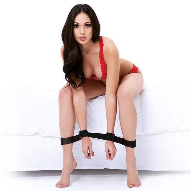 Lux Fetish Bondage Buddy Spreader Restraints - Sex Toys