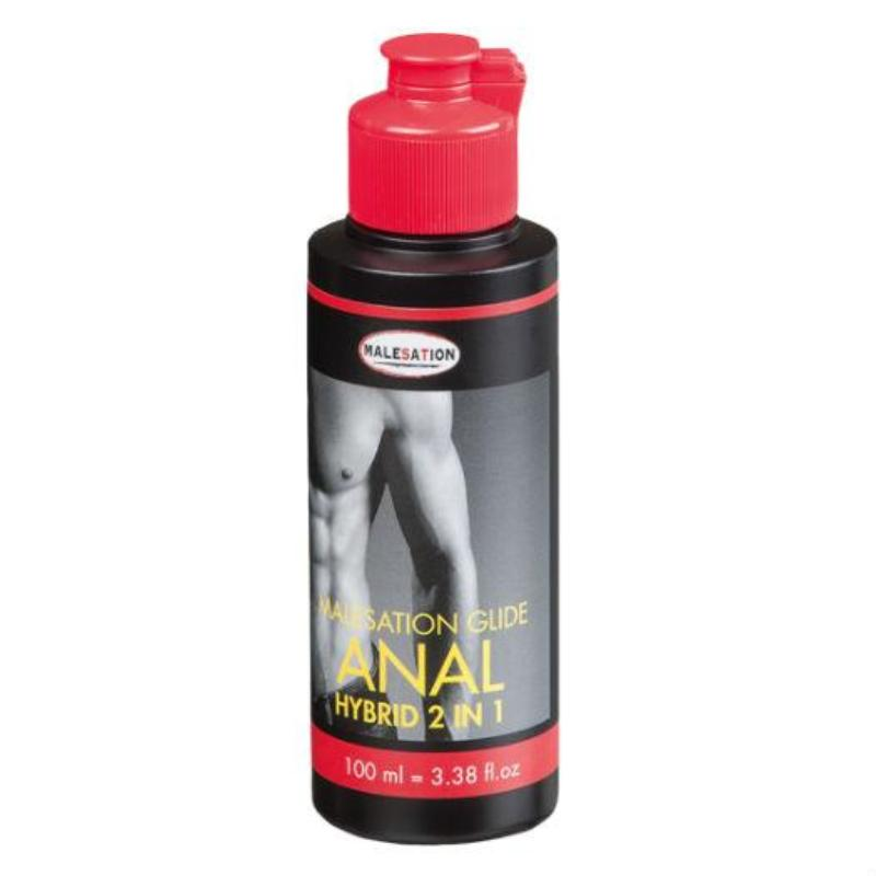 Malesation Anal Hybrid Water Based Lubricant 100ml - Sex Toys