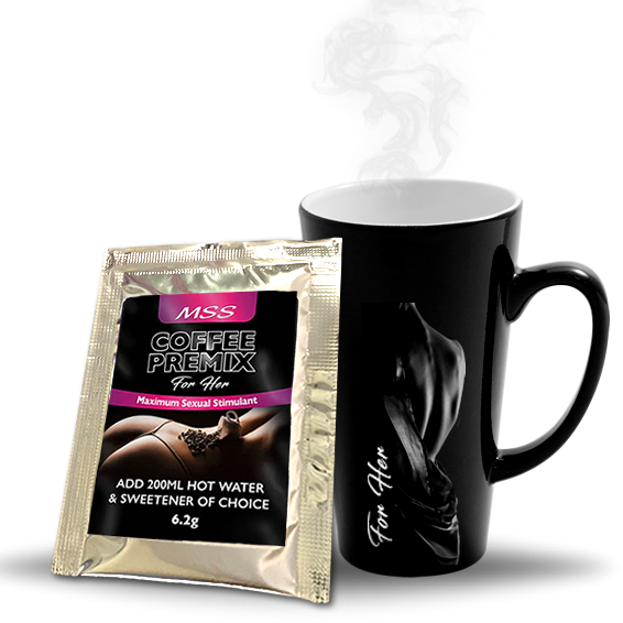 MSS Sexual Stimulant Coffee Premix For Her (1s) - Sex Toys