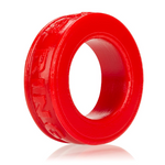 Oxballs PIG-RING Silicone Cock Ring Red - Sex Toys For Men