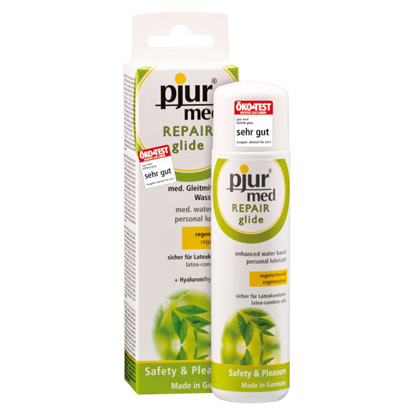 Pjur Med Repair Glide Water Based Lube 100ml - Sex Toys