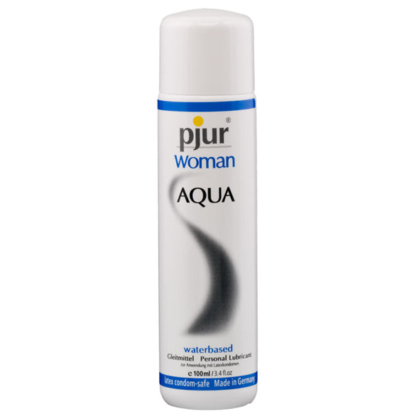 Pjur Woman Aqua Water Based Personal Lubricant 100ml - Sex Toys
