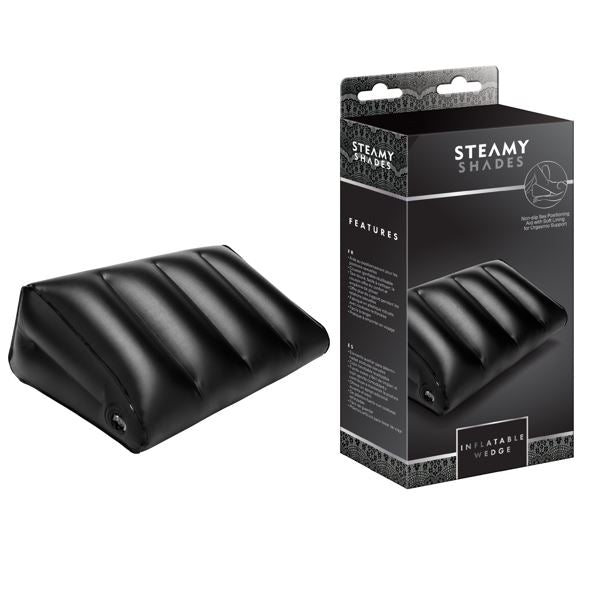 Steamy Shades Inflatable Positioning Wedge