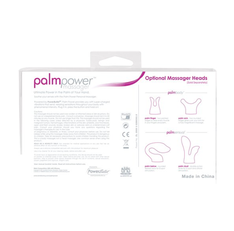 Swan PalmPower Corded Massage Wand Vibrator - Sex Toys
