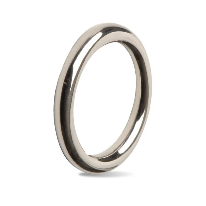 Titus Fine Stainless Steel Cock Ring 8mm - Sex Toys For Men