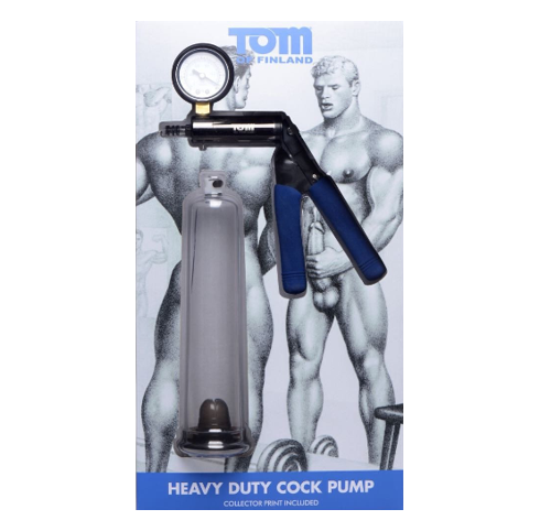 Tom Of Finland Heavy Duty Penis Pump - Sex Toys For Men