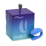 We-Vibe Match Clitoral & G-Spot Couples Vibrator With Remote
