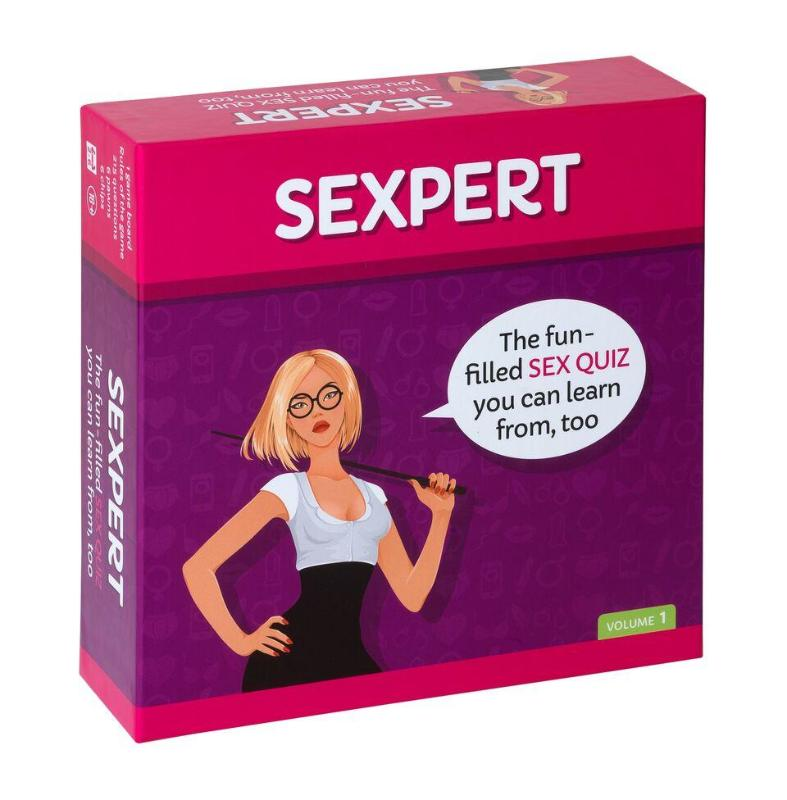 SEXPERT The Board Game - Adult Toys