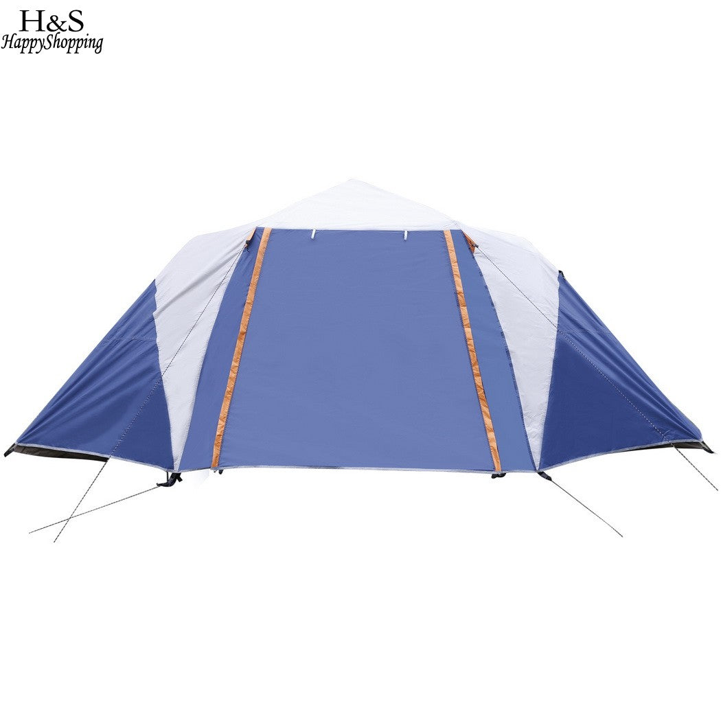6-8 Person 2-Bedroom Dome Tent - Vagabond Traveler