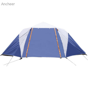 6-8 Person 2-Bedroom Automatic Dome Tent - Vagabond Traveler