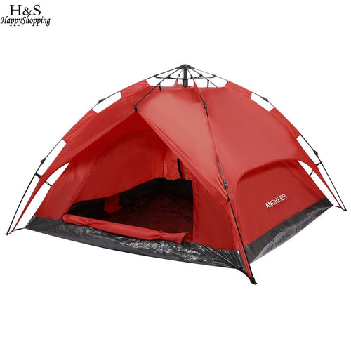 3-Person Automatic Instant Setup Dome Tent - Vagabond Traveler