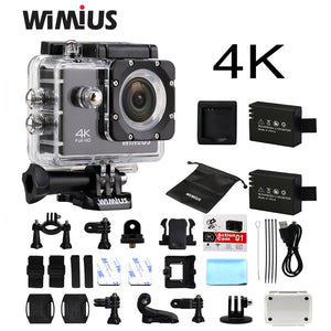 4K WiFi Sports Action Camera - Vagabond Traveler