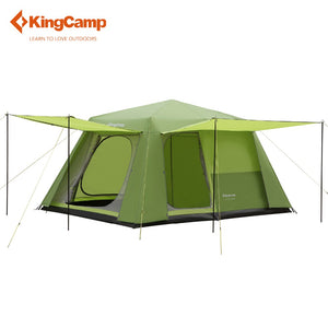 8-persons 2-rooms Family Camping Cabin Tent - Vagabond Traveler