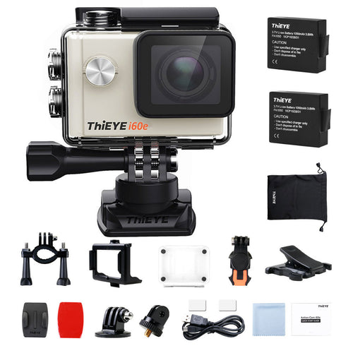 I60e 4K WIFI 4X Zoom HD Action Camera - Vagabond Traveler