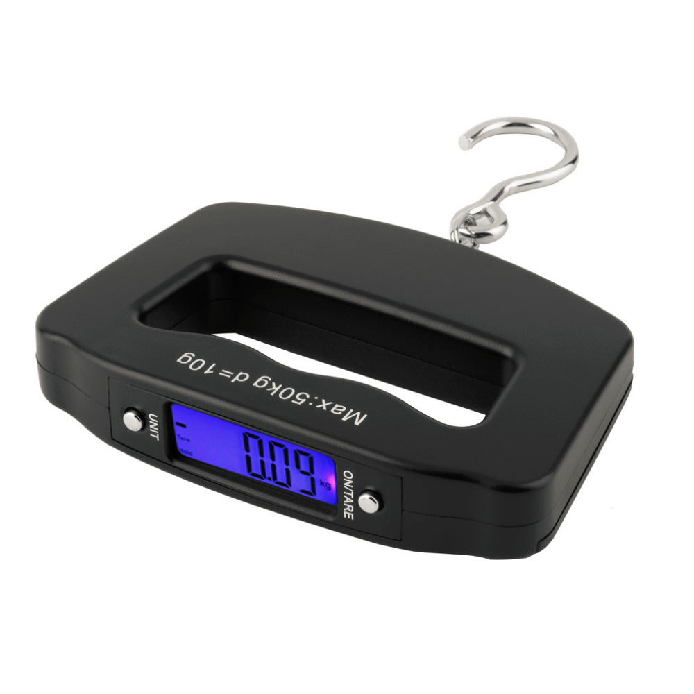 50kg/10g LCD Digital Luggage Scale - Vagabond Traveler
