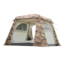 5-8 Person Cloth Tent Camouflage Cabin Tent - Vagabond Traveler