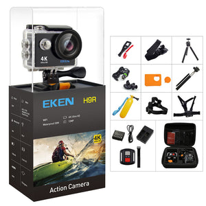 Original EKEN H9/H9R Action Camera 4K Ultra HD 1080p/60fps - Vagabond Traveler
