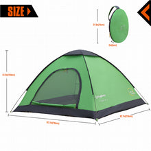 2-Person Pop Up Dome Tents - Vagabond Traveler