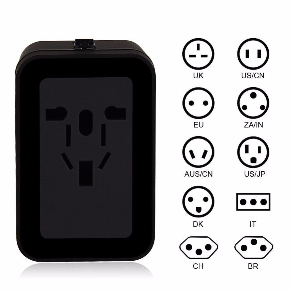 Travel Adapter Universal Chargers - Vagabond Traveler