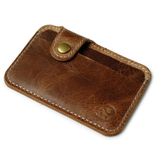 Slim Leather Credit Card Holder - Vagabond Traveler