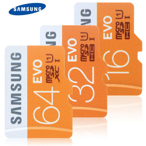 Original SAMSUNG UHS-I 32GB 64GB 128GB 95MB/s High Speed Micro SD Card - Vagabond Traveler